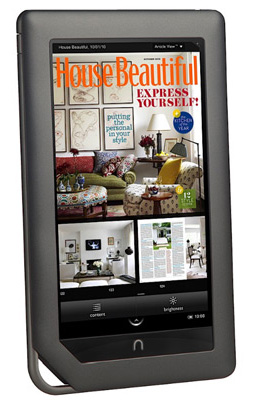 nook color review barnes and noble nook color ereader and ebook reader review